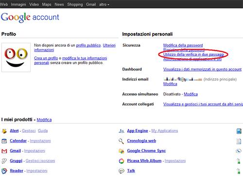 Una casella Gmail a prova di hacker - WinTricks it