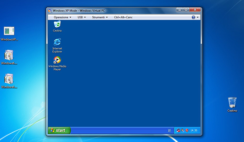 Emulare XP in Windows 7
