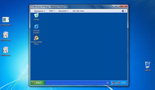 Emulare XP in Windows 7