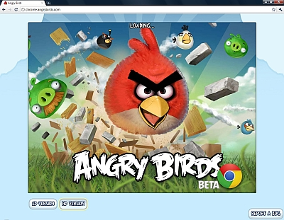 Angry Birds per Google Chrome