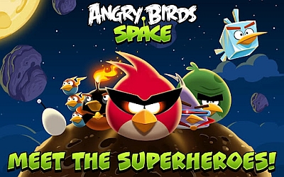 Arriva Angry Birds Space per dispositivi Android e Apple