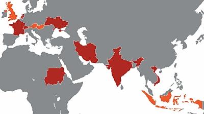 Il malware Duqu si è diffuso già in diversi Paesi del mondo