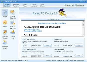Rising PC Doctor 6.0.4.49