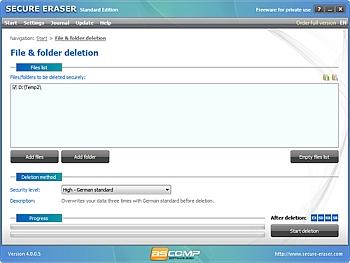 Secure Eraser 4.0.0.5
