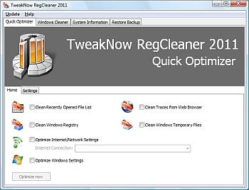 TweakNow RegCleaner 2011