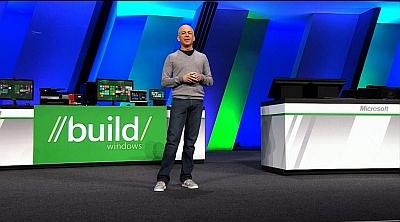 Sul palco del keynote BUILD, Steven Sinofsky, responsabile dello sviluppo di Windows 8, ha presentato il nuovo sistema operativo Microsoft
