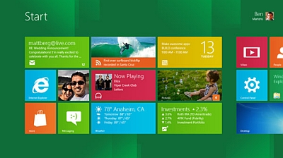 Così si presenta Metro, la nuova interfaccia di Windows 8